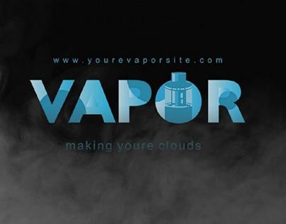 Vapor Logo Template