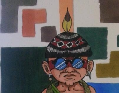 Índio nativo Brasileiro