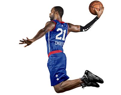 Philadelphia 76ers Uniform Concepts.