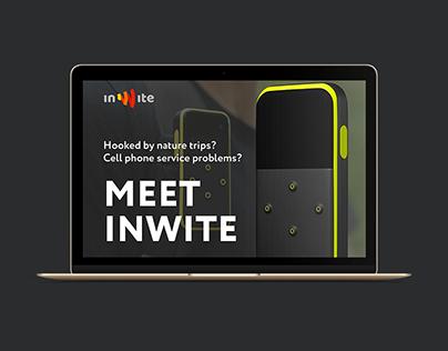 Design for KickStarter - InWite