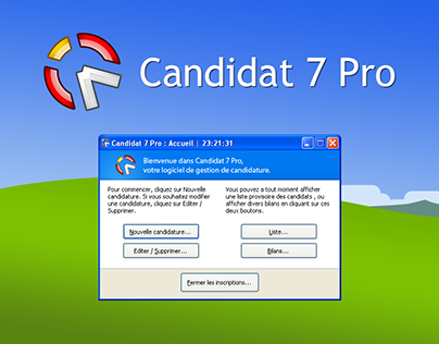 UX on Candidat 7 Pro