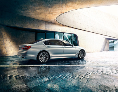 BMW 7er Artwork