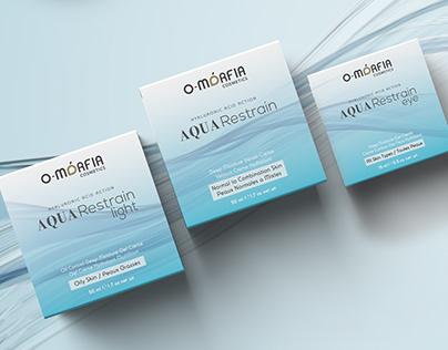 O-morfia Cosmetics Aqua Restrain - Packaging
