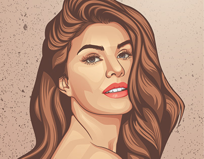 Vector Portrait of Jacqueline