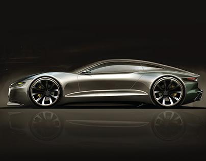 Jaguar T type concept