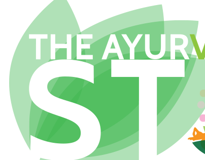 THE AYURVEDA STORE LOGO DESIGN