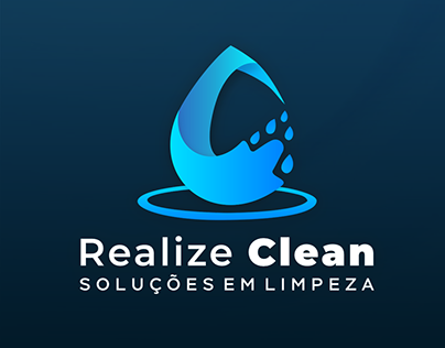Logo Realize Clean - Limpeza a seco