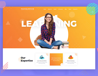Education & Training Institute Theme