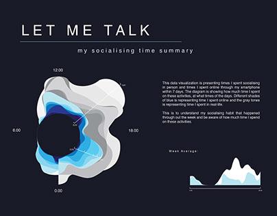 Let Me Talk (data visualization)