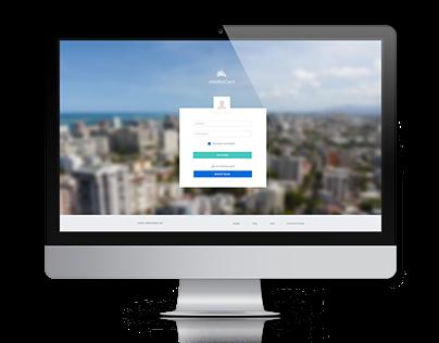 E-Wallet Card - Web App