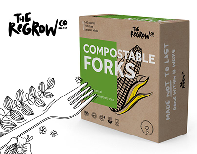 The ReGrow Co. - logotype and packaging