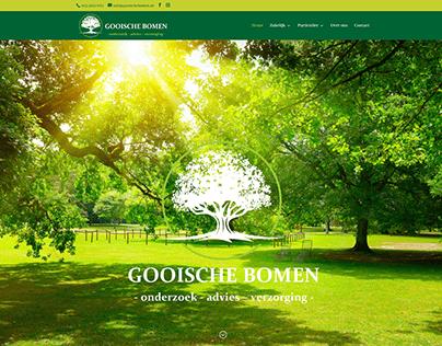 Website Gooische Bomen