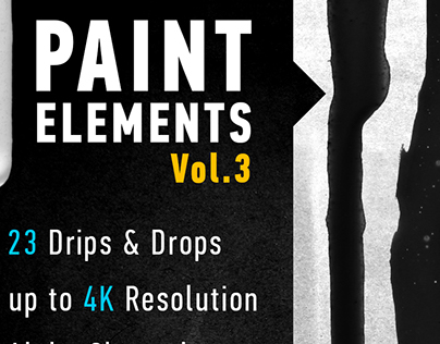 Paint Elements Vol.3 - Drips & Drops - Motion Graphics