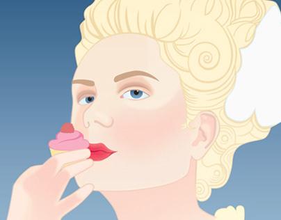 Marie Antoinette Movie Marketing Mock-ups