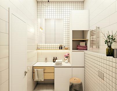 Kitchen, Batrhroom interior design