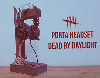 Tutorial de um porta headset do Dead by Daylight