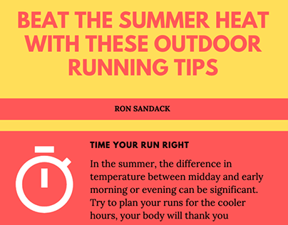 Beat the Heat with These Outdoor Running Tips