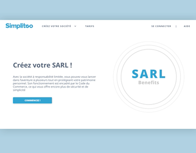 Three main advantages of SARL business form (France).