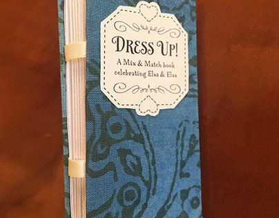 Dress Up! A Mix & Match book celebrating Elsa & Elsa