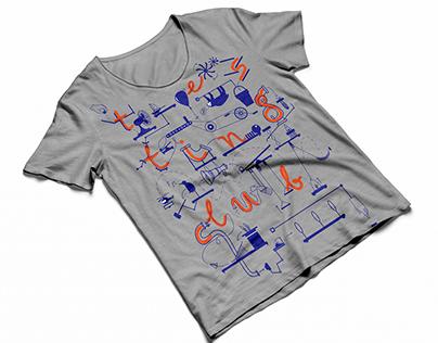Testing Club - t-shirt design