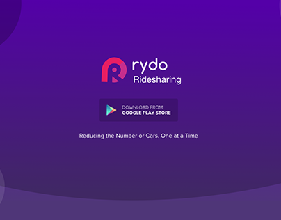 Rydo Ridesharing App Showcase