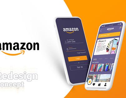 Amazon app redesign concept