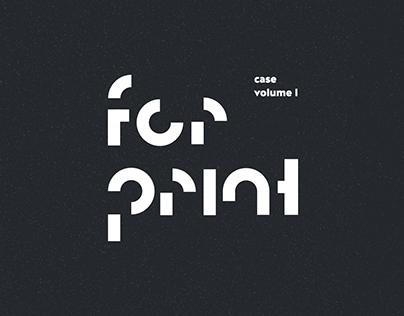 For Print Vol. I