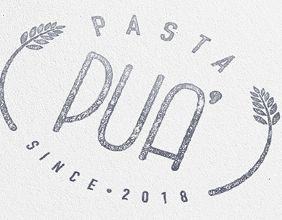 Pasta Pua' - Brand Identity and Packaging