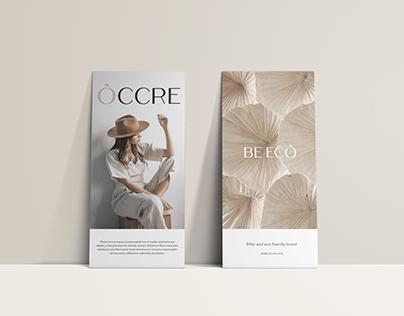 Branding ÔCCRE Ethic Brand