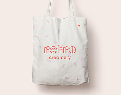 Retro Creamery | Identity
