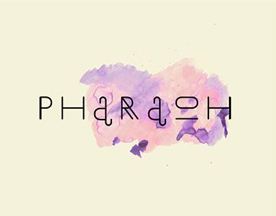 PHARAOH(free font)