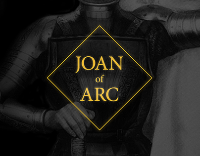 Joan of Arc - web design