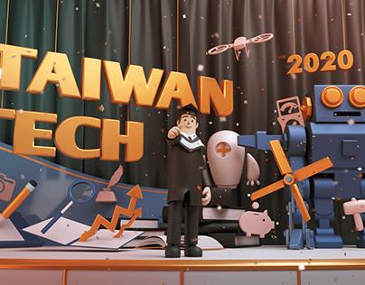 2020國立臺灣科技大學-畢業典禮動畫