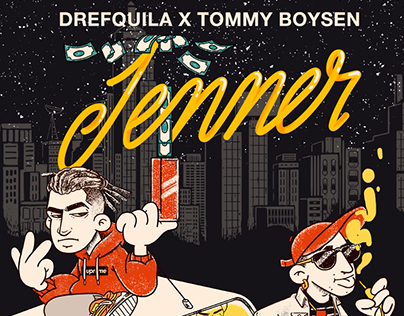 Animated artwork for the single Jenner - Drefquila