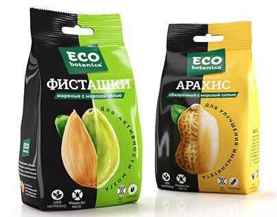 "Design of snacks TM ""Eco Botanica"""