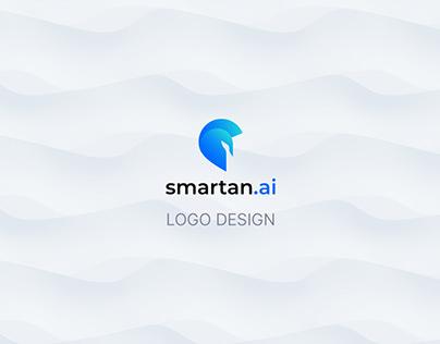 smartan.ai logo design