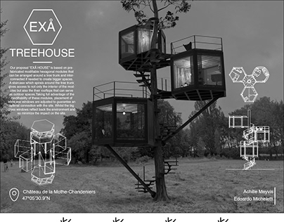 Young Architects Competition - EXÅ Treehouse