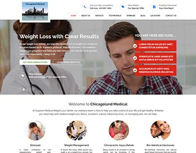 Chicagoland Medical Website UI/UX