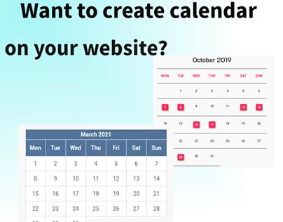 How to Create Calendar Layout on your Joomla website