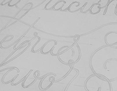 Una ración de letras, por favor (lettering)