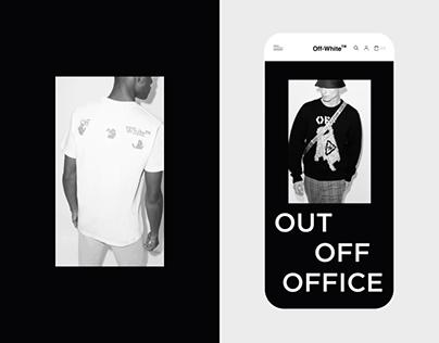 OFF WHITE™ — Website Redesign