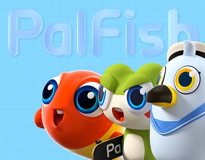 PalFish品牌形象升级 -PalFish Brand Upgrade Design