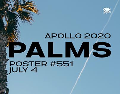 Palms Poster #551