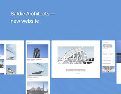 Safdie Architects — New website