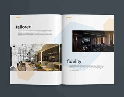 Brochure Design for an LA Based Home Automation Company