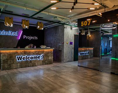 Дизайн офиса Admitad / Project