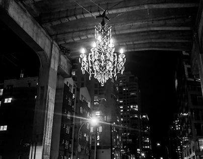 Downtown Vancouver Chandelier