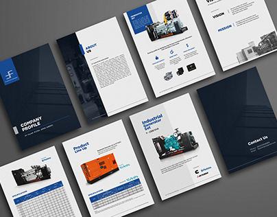 Company Profile Design Project