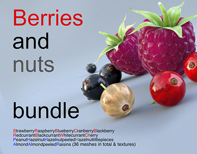 Berries and nuts Bundle