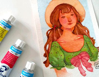 Ilustração em aquarela | Watercolor